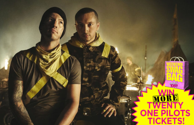 SWAG BAG: Win MORE Twenty One Pilots tickets! - Energy 106 9